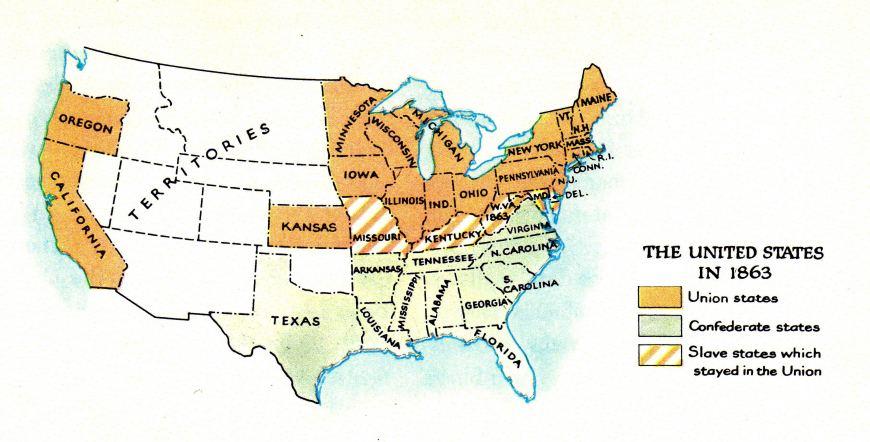 Bürgerkrieg Usa 1861